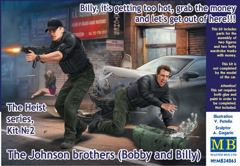 Heist No.2 - Billy, Its getting too Hot (1/24 Master Box): www.mightylancergames.co.uk