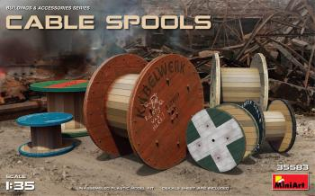 MiniArt 1/35 - Cable Spools: www.mightylancergames.co.uk