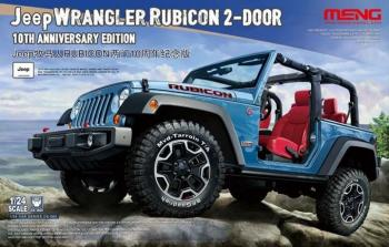 Meng 1/24 - Jeep Wrangler Rubicon 10th Anniversary Edition