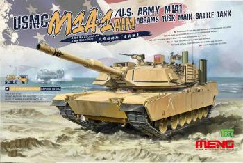 Meng Model 1:35 - M1A1 Abrams TUSK Main Battle Tank: www.mightylancergames.co.uk