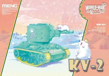 Meng - KV-2 World War Toon: www.mightylancergames.co.uk
