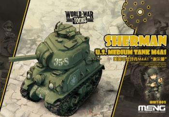 Meng M4A1 - World War Toon