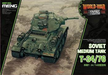 Meng T34/76 World War Toons: www.mightylancergames.co.uk