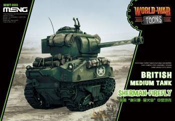 Meng World War Toon - Sherman Firefly: www.mightylancergames.co.uk