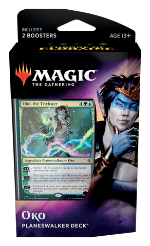 Magic the Gathering Oko Planeswalker - Thrones of Eldraine: www.mightylancergames.co.uk