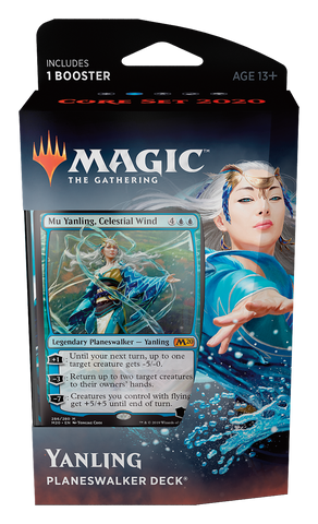 Yanling Planeswalker (Blue), Core Set 2020: www.mightylancergames.co.uk