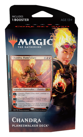 Chandra - Planeswalker Deck Core 2020: www.mightylancergames.co.uk