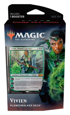 Core Set 2020 - Vivien (Green) Magic the Gathering: www.mightylancergames.co.uk