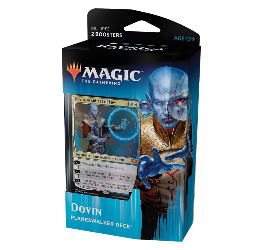 Magic the Gathering - Dovin Planeswalkers Deck: www.mightylancergames.co.uk