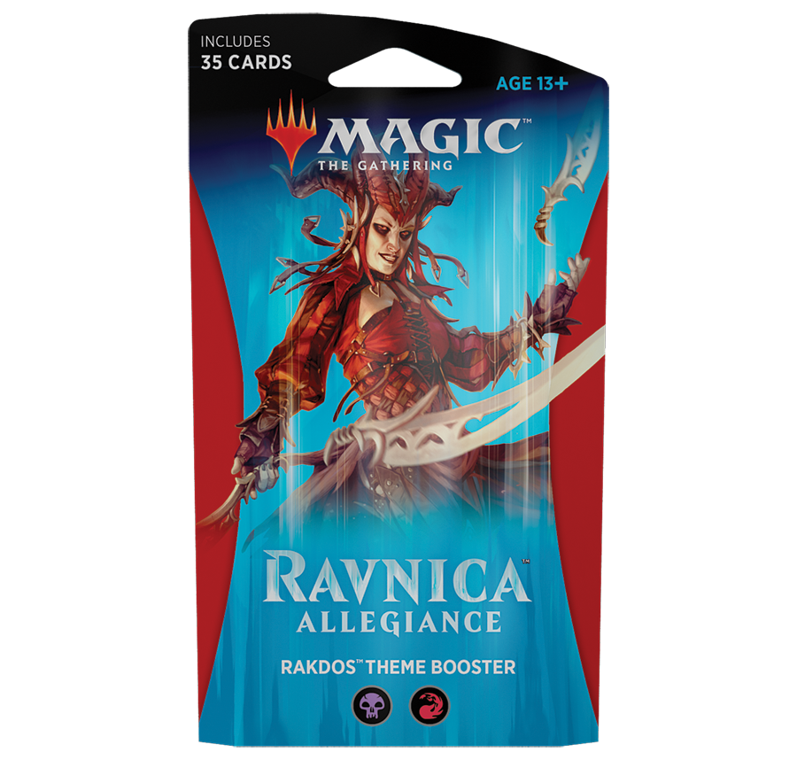 Ravnica Allegiance Rakdos Theme Booster: www.mightylancergames.co.uk