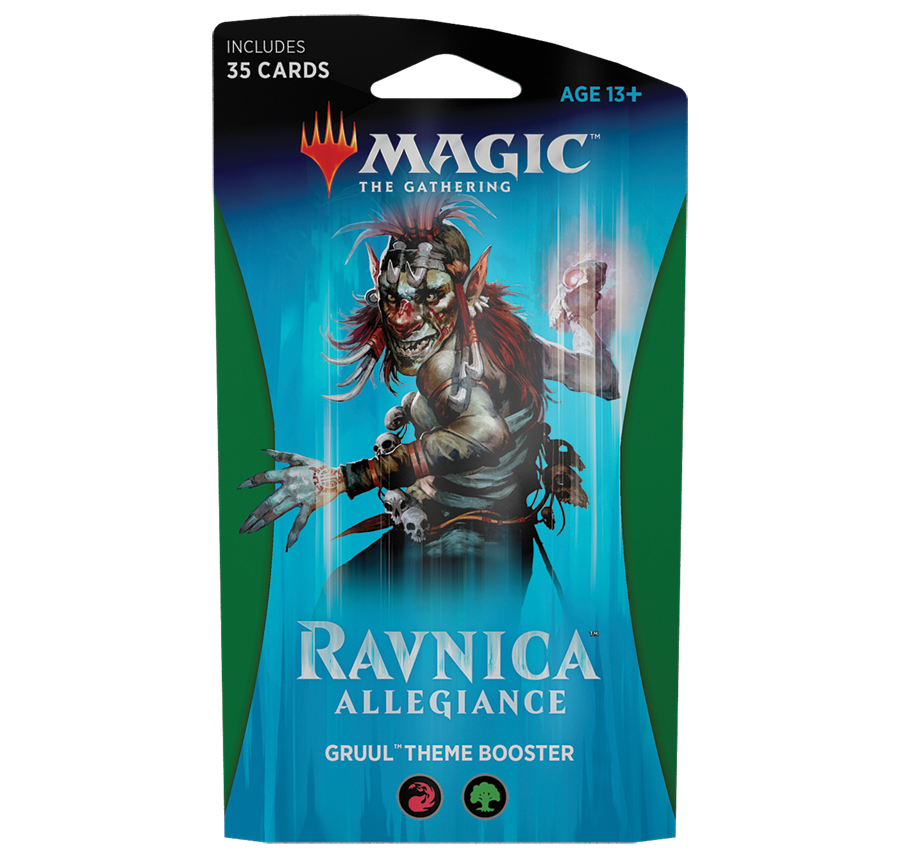 Ravnica Allegiance - Gruul Themed Deck: www.mightylancergames.co.uk