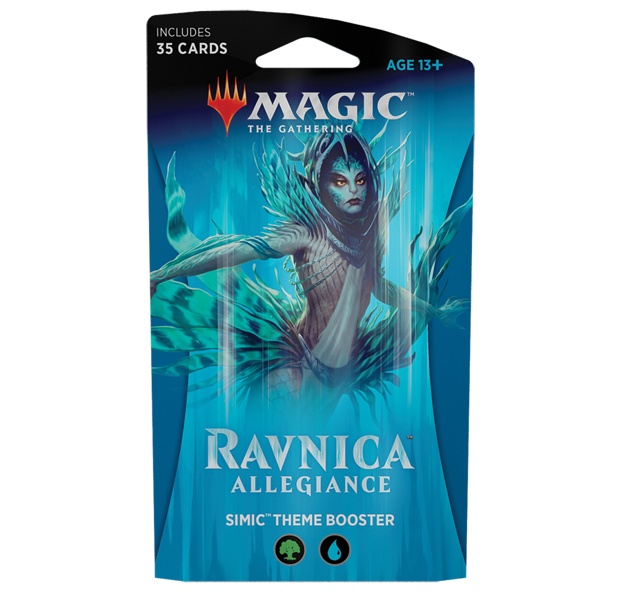 Ravnica Allegiance - Simic Theme Deck: www.mightylancergames.co.uk