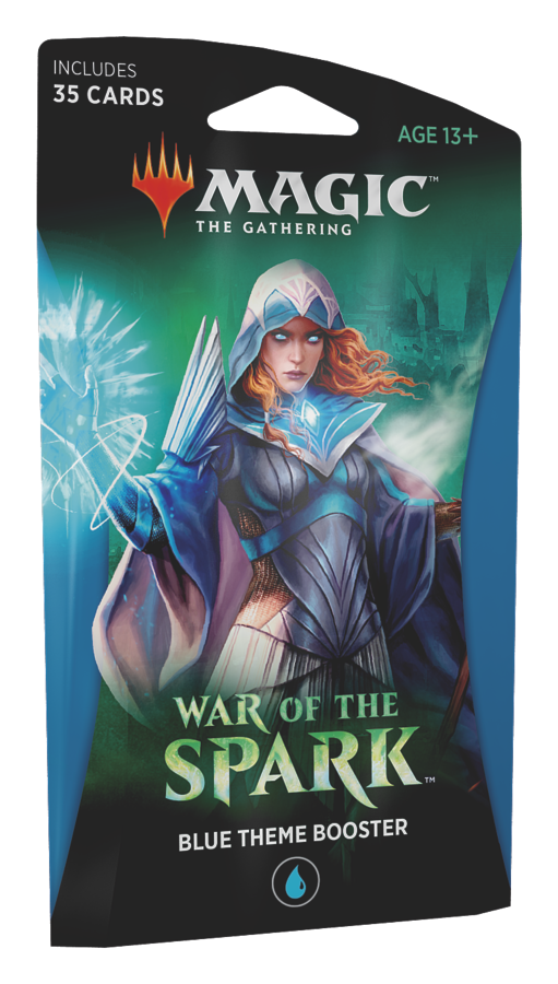 War of the Spark - Blue Themed Booster (Magic the Gathering): www.mightylancergames.co.uk