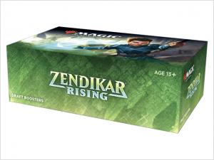 Zendikar Rising Draft Booster Display **Pre-order for 18th September**