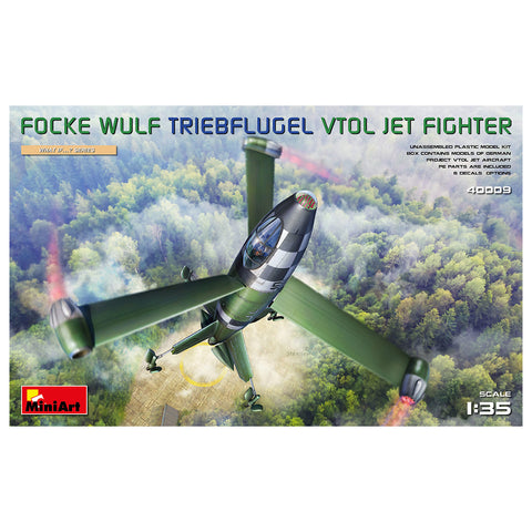 MiniArt What If Focke Wulf Trieblflugel Jet Fighter