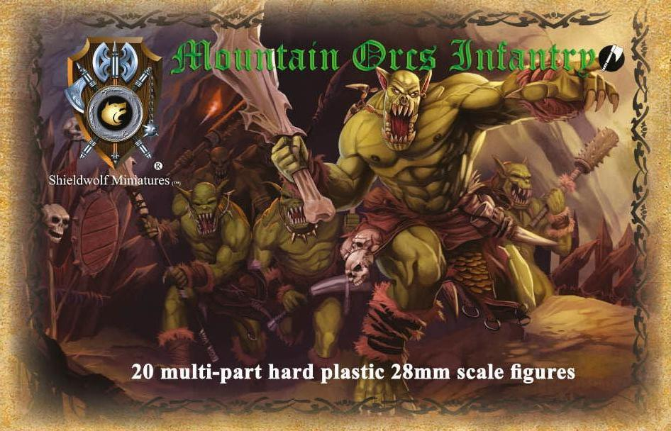 Mountain Orcs Infantry (hard plastic)