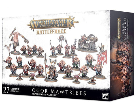 Meatgrinder Warglutt - Ogor Mawtribes Battleforce***Pre-Order for 5th December 2020***
