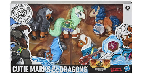 My Little Pony x Dungeons & Dragons Crossover Collection Cutie Marks & Dragons :www.mightylancergames.co.uk