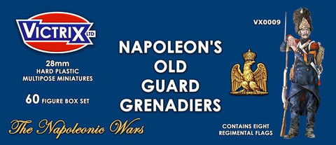 Napoleon's French Old Guard Grenadiers (Victrix VX0009)