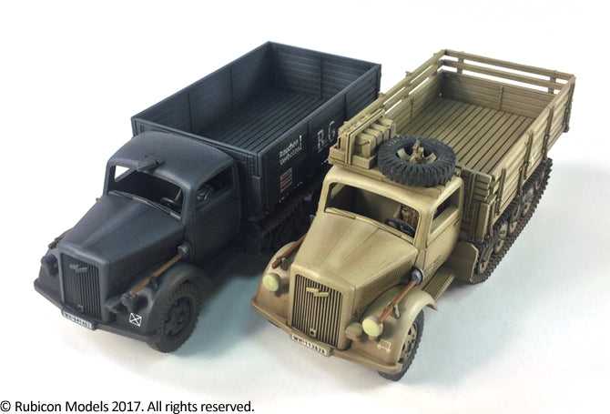 SdKfz 3a Maultier 2 ton Half-Track Cargo Truck - Germans (Rubicon 280046) :www.mightylancergames.co.uk