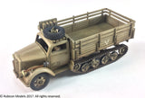 German SdKfz 3a Maultier 2 ton Half-Track Cargo Truck