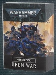 MISSION PACK: OPEN WAR - Warhammer 40000 ****Pre-order for release on the 25th July 2020****