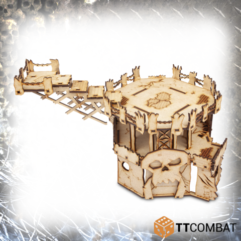 Orc Fortress - Tabletop Scenics (MDF)