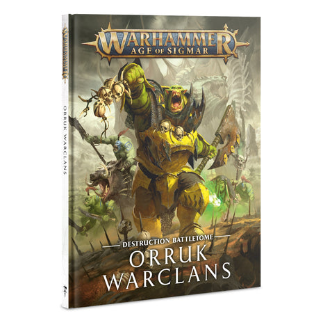 Battletome Orruk Warclans (Age of Sigmar) :www.mightylancergames.co.uk