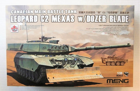 Canadian Leopard C2 Mexas w/Dozer Blade - 1/35 Meng :www.mightylancergames.co.uk