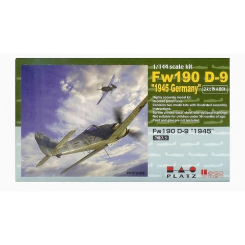 "Platz/ Bego 1/144 - Fw190 D-9 ""1945 Germany"": www.mightylancergames.co.uk"
