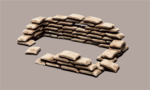 Italeri 1/35 - Sand bags No. 406: www.mightylancergames.co.uk