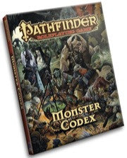 Pathfinder Roleplaying Game - Monster Codex: www.mightylancergames.co.uk