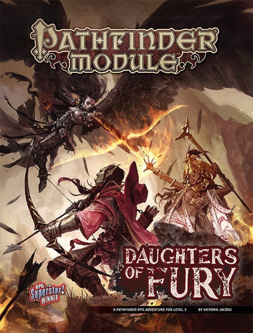 Daughters of Fury - Pathfinder Adventure Module (Pathfinder 1st Edition RPG) :www.mightylnacergames.co.uk