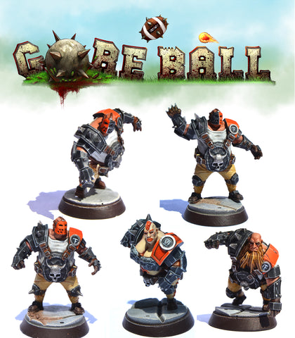Goreball Ogre Team - Wordforgedgames :www.mightylancergames.co.uk