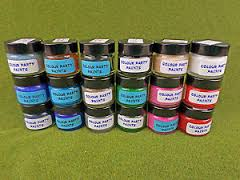 Colour Party Paints - MA32 Old Gold :www.mightylancergames.co.uk
