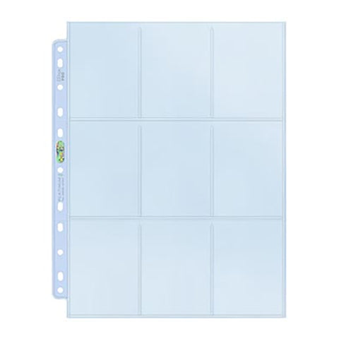 Ultra Pro Platinum 9 Pocket Sheet#