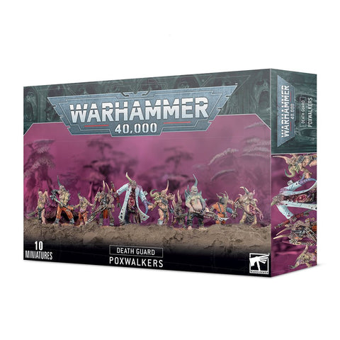 Death Guard Poxwalkers ***Pre-Order For 23rd January 2021**