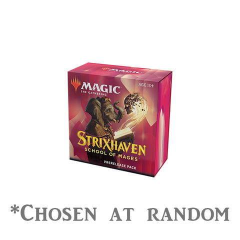 Chosen at random - one strixhaven prerelease kit