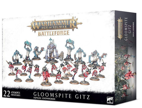 Fungal Loonhorde - Gloomspite Gitz Battleforce ***Pre-Order for 5th December 2020***