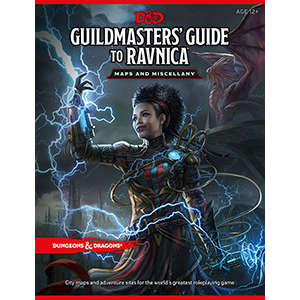Guildmaster's Guide to Ravnica Maps and Miscellany: www.mightylancergames.co.uk