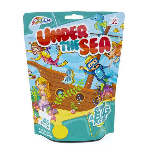 Under The Sea 45pc Grab A Bag Puzzle