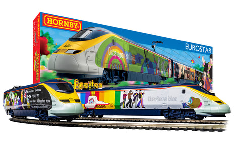 Eurostar 'Yellow Submarine' Train Set - Hornby - R1253M