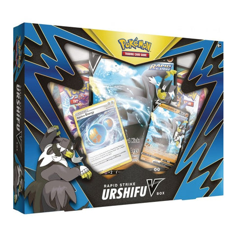 Rapid Strike Urshivu V Box Pokemn TCG