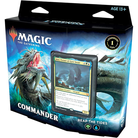 Reap The Tides Commander Legends Deck