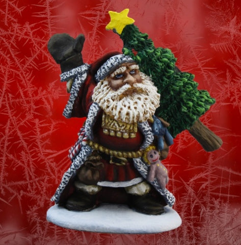 01525: Dark Haven Legends Santa Dwarf (2012): www.mightylancergames.co.uk