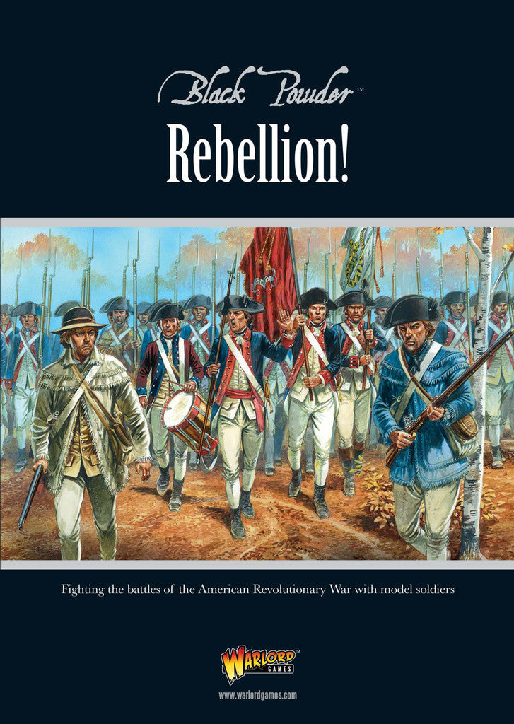 American War of Independence: Rebellion! Rules Supplement