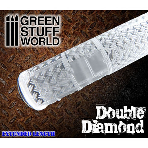 Double Diamond - Rolling Pin - 1164 Green Stuff World