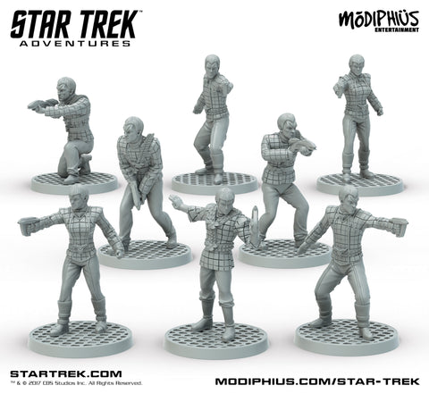 STAR TREK ADVENTURES MINIATURES: ROMULAN STRIKE TEAM