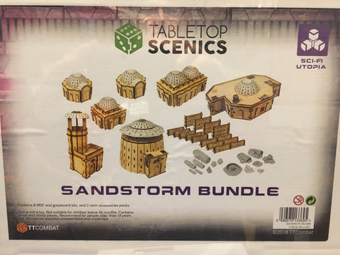 Sandstorm Bundle - Tabletop Scenics