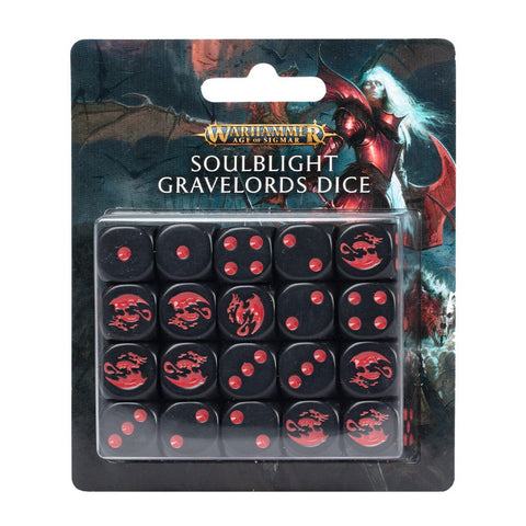 Warhammer Age of Sigmar Soulblight Gravelords Dice
